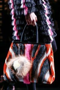 Fendi Fall 2013 2Jours Runway Fur Bag