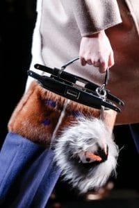 Fendi Fall 2013 peekaboo natural fur bag