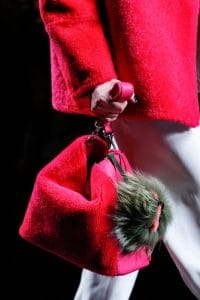 Fendi Fall 2013 Runway Pink Fur Bag