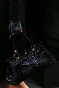 Bottega Veneta Fall 2013 Black Bag 1