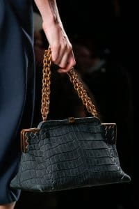 Bottega Veneta Fall 2013 Grey Croc Bag