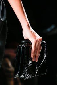 Bottega Veneta Fall 2013 Black Croc Bag
