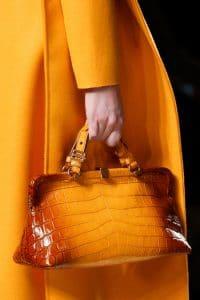 Bottega Veneta Fall 2013 Orange Croc Bag