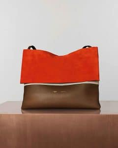 Celine Bright Orange All Soft Bag