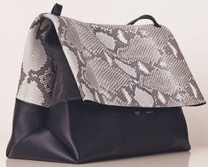 Celine Natural Python All Soft Tote Bag
