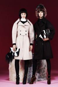 Fendi Pre-Fall 2013 Black and White Bags