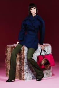 Fendi Pre-Fall 2013 Pink 2Jours Bag