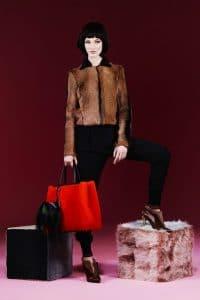 Fendi Pre-Fall 2013 Red 2Jours Bag