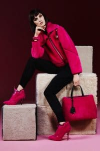 Fende Pre-Fall 2013 Pink 2Jours Bag