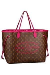 Louis Vuitton Indian Rose Neverfull GM Bag