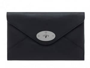 Mulberry Black Willow Clutch Bag