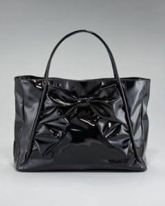 Valentino Black Betty Bow Tote Bag