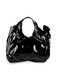 Valentino Black Nuage Bow Tote Large Bag