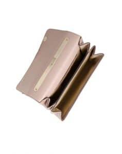 Valentino Light Brown Bow Flap Bag 3