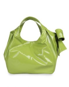 Valentino Light Green Nuage Bow Tote Medium Bag
