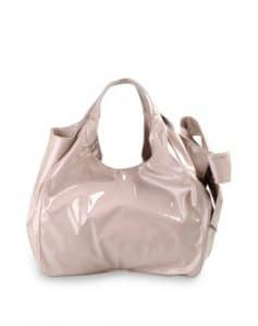 Valentino Light Pink Nuage Bow Tote Large Bag