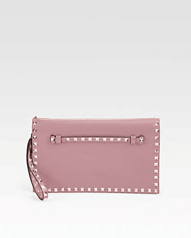 Cheapest Online Pink clutch bag Valentino Buy Cheap Looking For Get Online Collections Sale Online RhrmR8Y0R