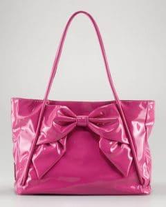 Valentino Pop Fuchsia Betty Bow Tote Bag