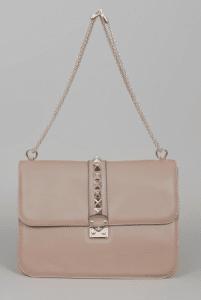 Valentino Sabi Rockstud Flap Large Bag