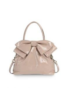 Valentino Skin Bow Double Handle Tote Bag