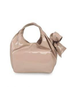 Valentino Skin Nuage Bow Tote Medium Bag