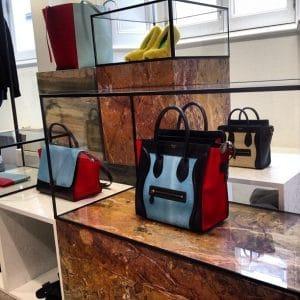 Celine Tricolor Glacier Mini Luggage bag - Summer 2013