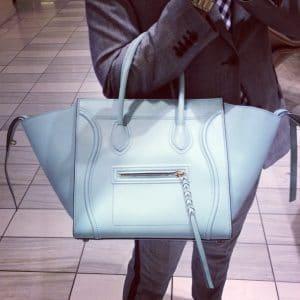 Celine Glacier Blue Phantom bag - Summer 2013