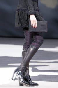 Chanel Black Clutch Bag - Fall 2013 Runway