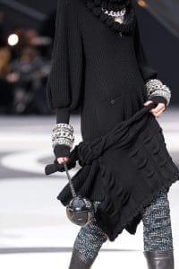 Chanel Black Globe Bag - Fall 2013 Runway