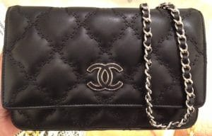 Chanel Black Hampton WOC Bag