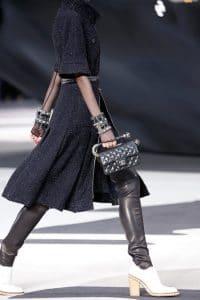 Chanel Black Mini Bag - Fall 2013 Runway