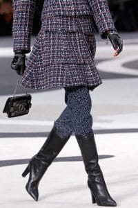 Chanel Black Mini Flap Bag - Fall 2013 Runway