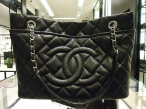 Chanel Black Timeless CC Soft Hobo Bag