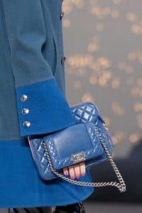Chanel Blue Bag - Fall 2013 Runway