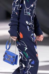 Chanel Blue Flap Mini Bag 2 - Fall 2013 Runway