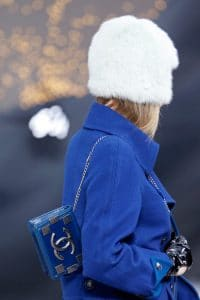 Chanel Blue Flap Mini Bag - Fall 2013 Runway