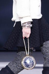 Chanel Blue Globe Bag - Fall 2013 Runway