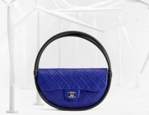 Chanel Blue Hula Hoop Medium Bag - Spring 2013