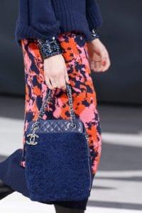 Chanel Blue Shoulder Bag - Fall 2013 Runway