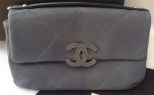 Chanel Denim Blue Hampton Mini Flap Bag
