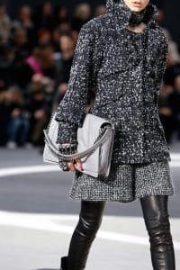 Chanel Grey Boy Flap Large Bag - Fall 2013 Runway