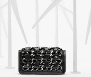 Chanel Interlaced Clutch Bag - Spring 2013