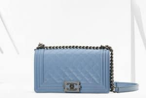 Chanel Light Blue Boy Bag - Spring 2013