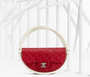 Chanel Small Red Hula Hoop Bag - Spring 2013