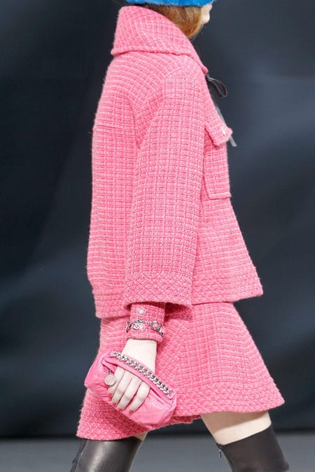 Chanel Clutch Bag Pink Chanel Pink Round Clutch Bag