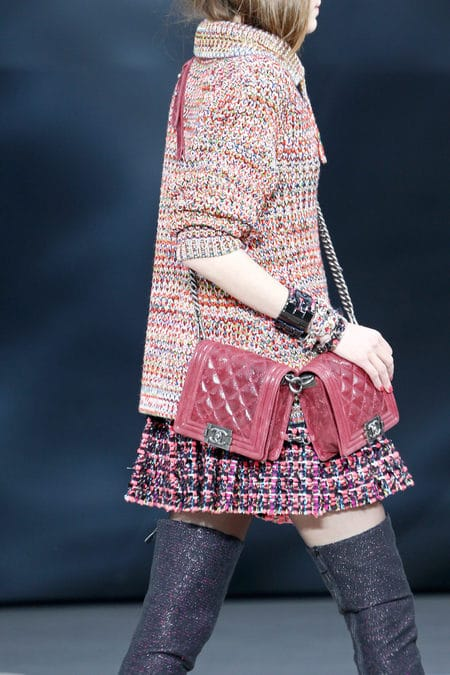The Bags of the Chanel Fall 2013 Runway CollectionChanel Boy Bag Red 2013