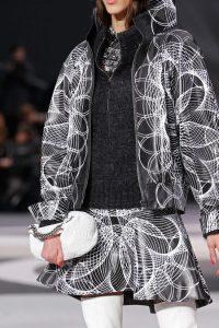 Chanel White Round Clutch Bag - Fall 2013 Runway