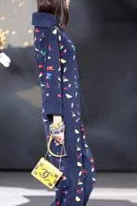 Chanel Yellow Flap Mini Bag - Fall 2013 Runway