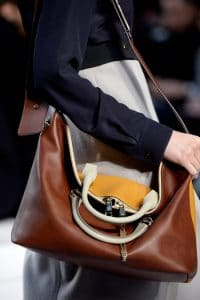 Chloe Brown/Orange Bag - Fall 2013 Collection