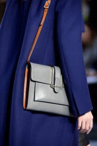 Chloe Grey Flap Bag - Fall 2013 Collection